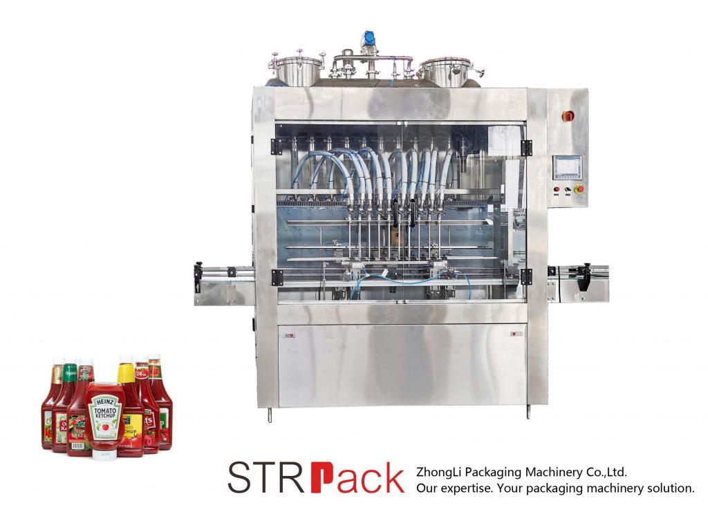 Stroj za polnjenje omake STRFP