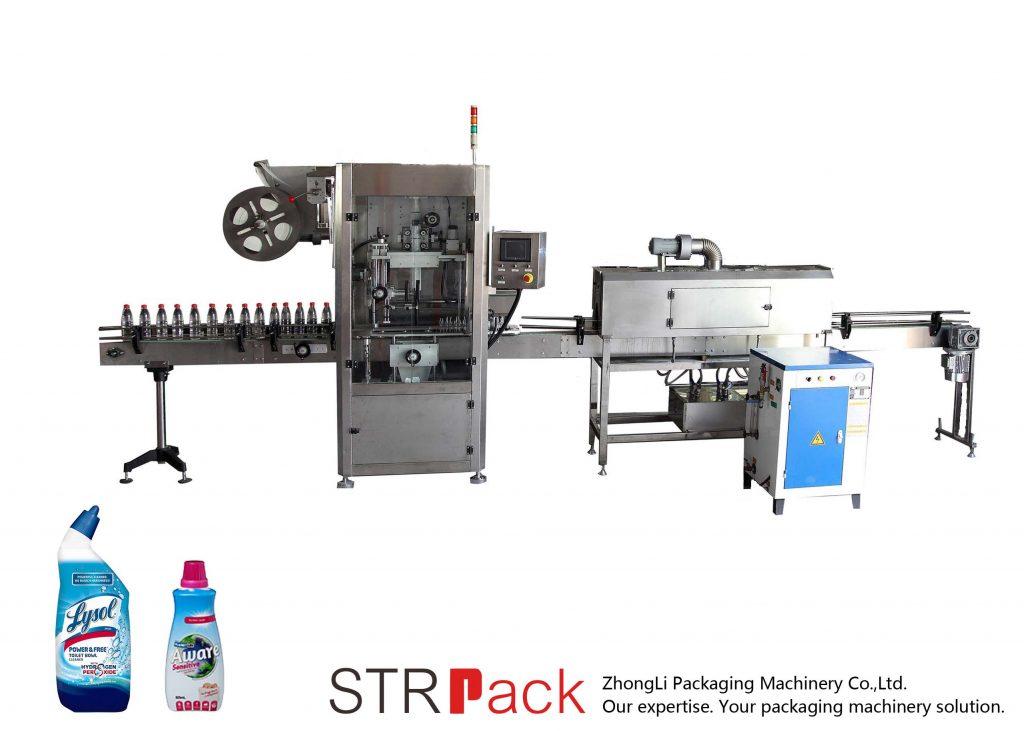 Avtomatski stroj za etiketiranje skrčljivih rokavov