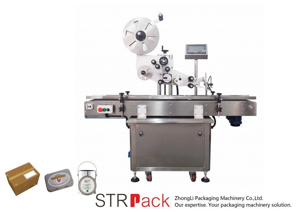 Avtomatski avtomatski samolepilni stroj za etiketiranje z navpično ravnino
