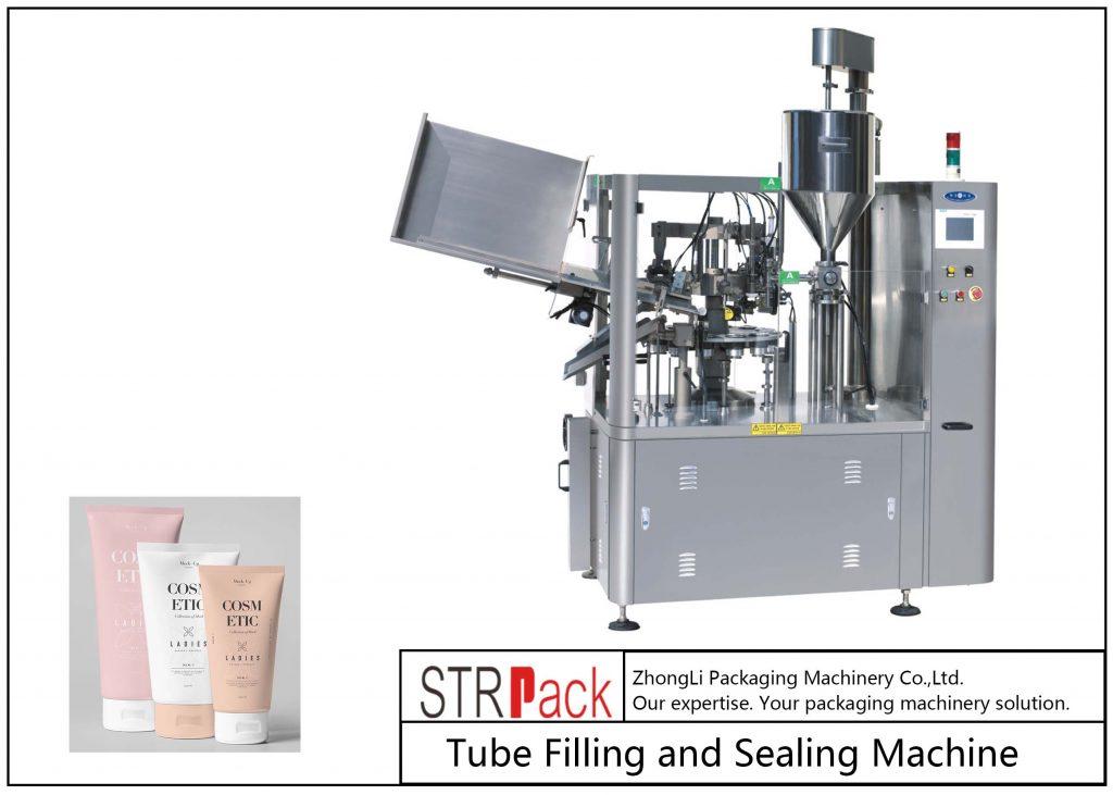 Stroj za polnjenje in tesnjenje plastičnih cevi SFS-100