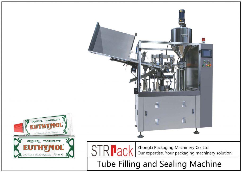 Stroj za polnjenje in tesnjenje kovinskih cevi SFS-60Z