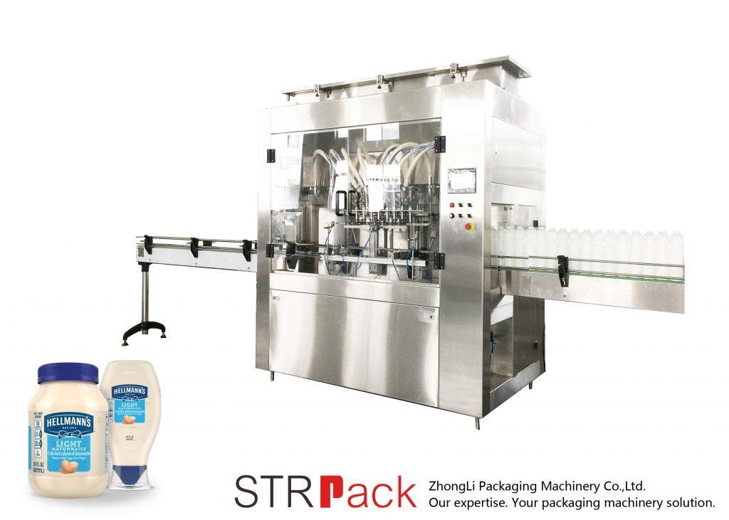 Stroj za polnjenje rotorskih črpalk STRRP