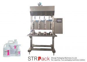 Polavtomatski avtomatski polnilni stroj s tekočino
