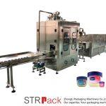 Avtomatska naprava za polnjenje in hlajenje vazelina s tekočino